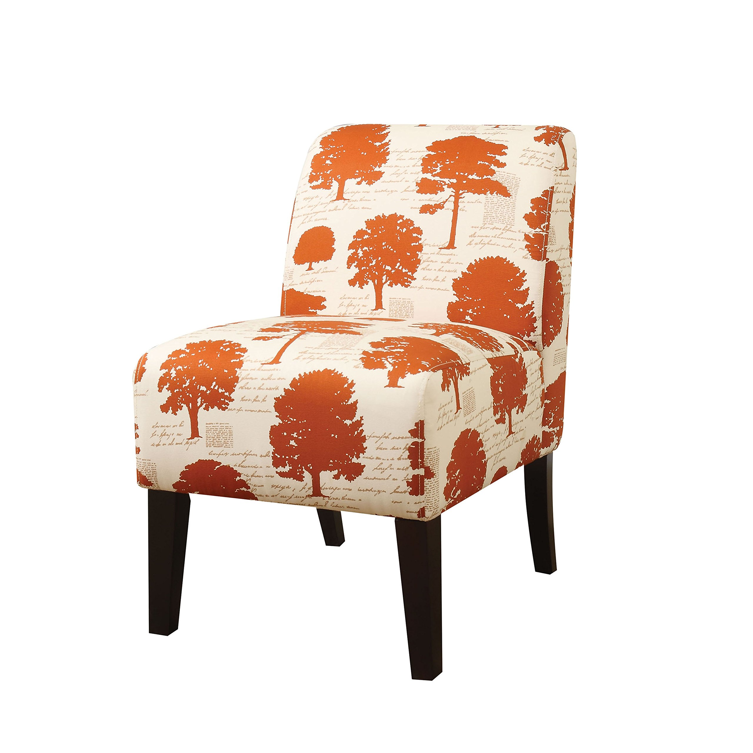 ACME Ollano Tree Fabric Accent Chair