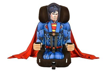 KidsEmbrace 2-in-1 Harness Booster Car Seat, DC Comics Superman