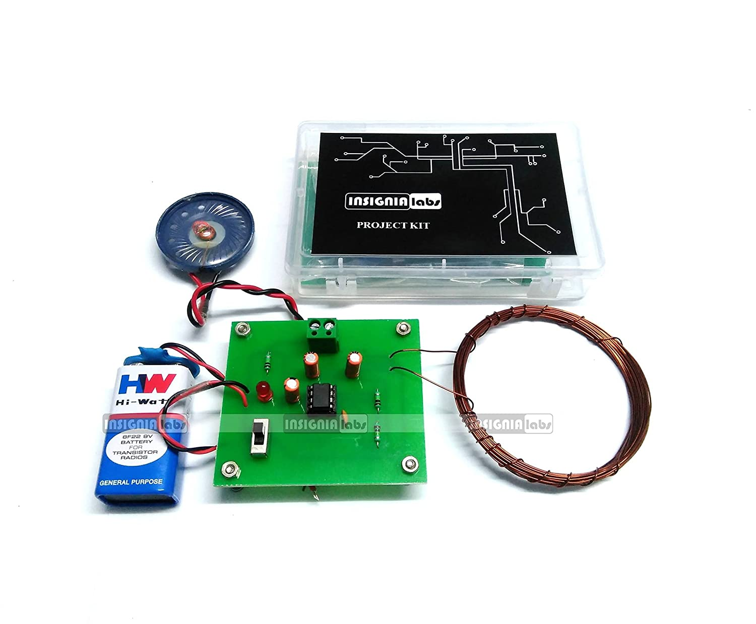 Buy Insignia Labs Metal Detector Kit Project Online At Low Prices Lm555 Electronics Circuit Detectors Part 3 In India