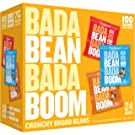 Enlightened Bada Bean Bada Boom Plant-based Protein, Gluten Free, Vegan, Non-GMO, Soy Free, Roasted Broad Fava Bean Snacks, The Classic Box Variety Pack, 1 Ounce (24 Count)