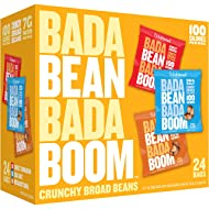 Enlightened Bada Bean Bada Boom Protein Gluten Free Roasted Broad (Fava) Bean Snack, Variety Pack, 1.0 oz, 24 Count
