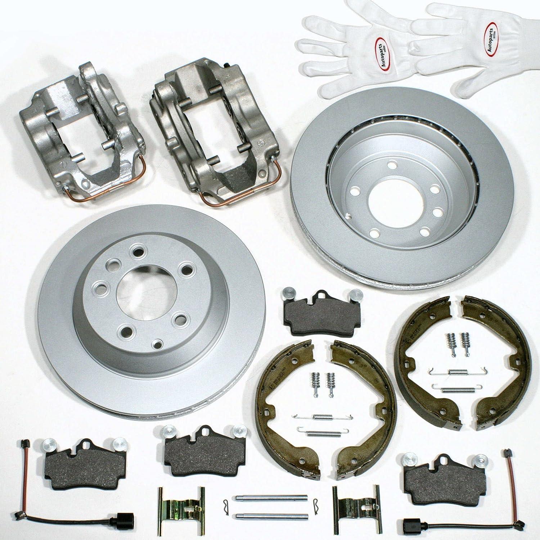 Autoparts-Online Set 60015982 Trommelbremsbacken Zubeh/ör Satz f/ür hinten die Hinterachse