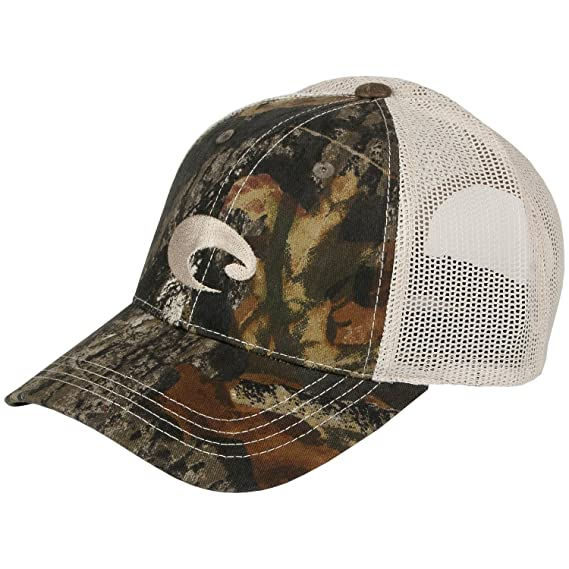 db5ee4d45d Mens Costa Del Mar Mesh Hat Camo Stone One Size  Amazon.in  Clothing    Accessories