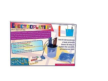 Buy junior scientist electroplating kit online at low prices in junior scientist electroplating kit solutioingenieria Gallery