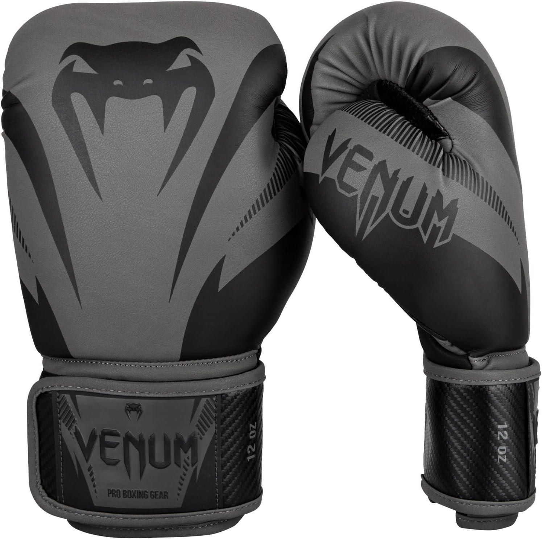VENUM ボクシンググローブ Impact - インパクト(黒/黒)/ Boxing Gloves  16oz