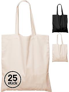 ELES VIDA 25 Bolsas de algodón, 38 x 42 cm, sin Estampar ...