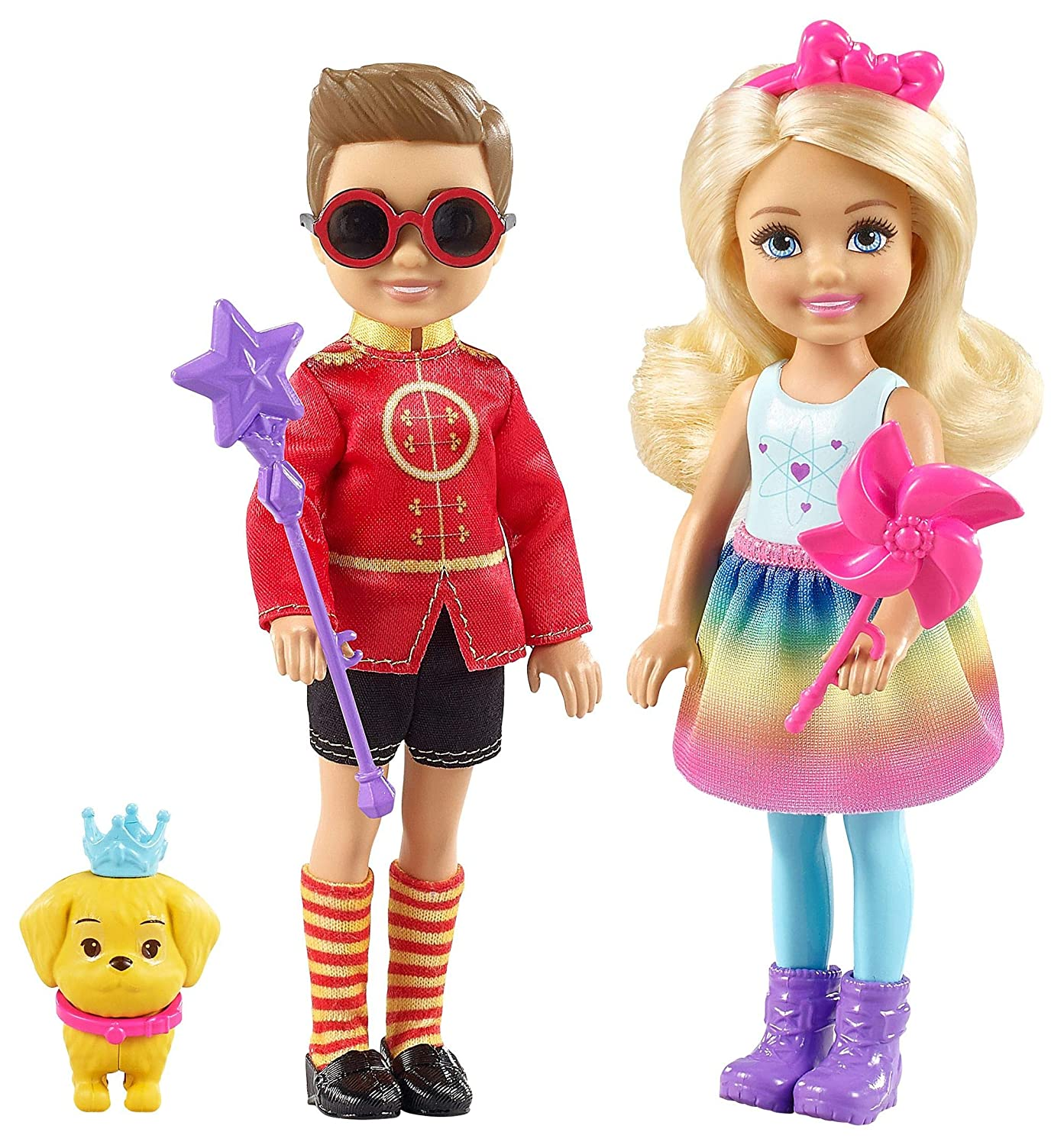 Barbie Dreamtopia Chelsea & Otto Figure Set Mattel FRB14