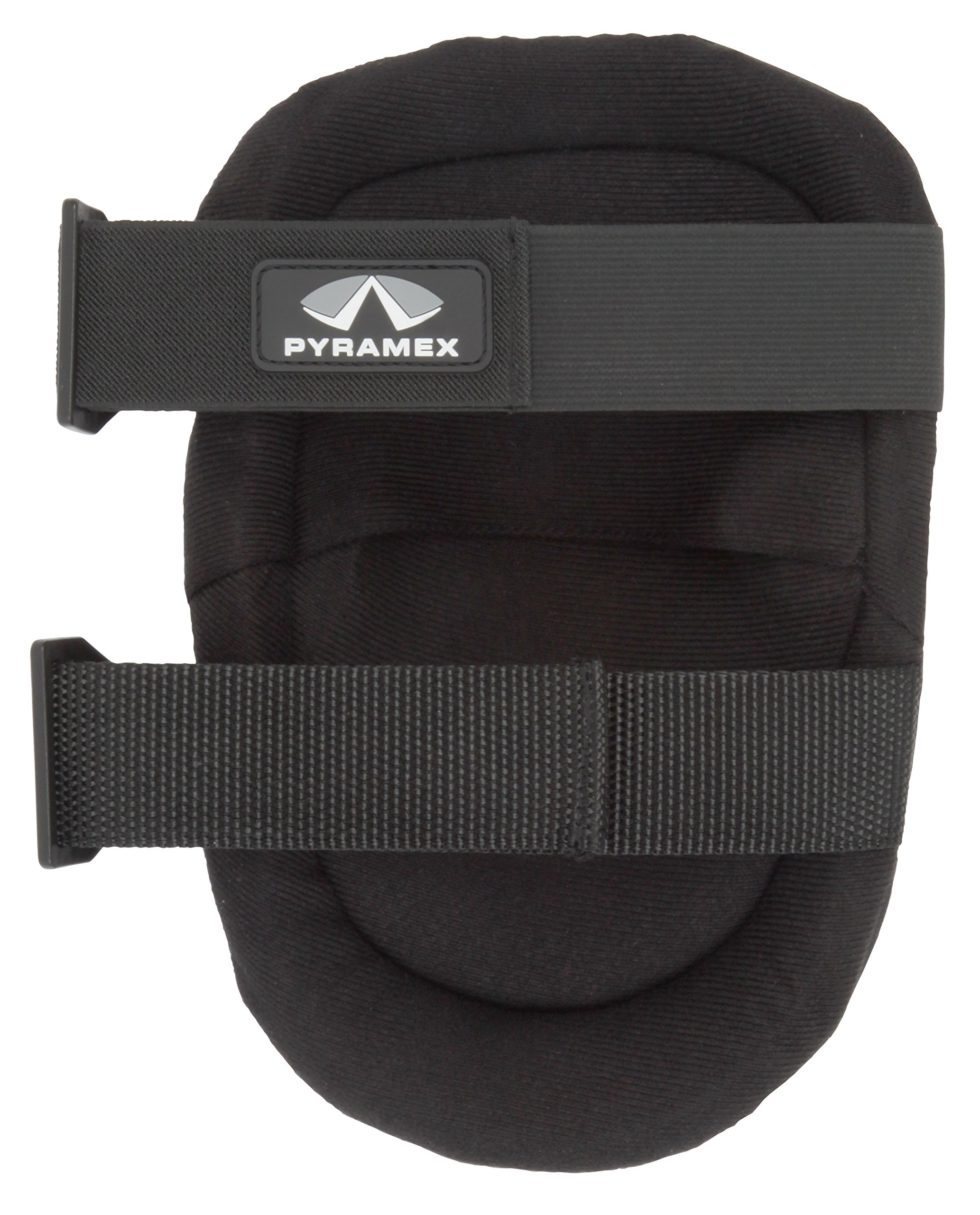 Pyramex Safety BKP200NM Non-Marring Rubber Knee Pads, One Size Fits All, One Size Fits Most