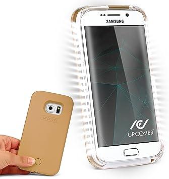Urcover® Funda con Luz para Selfies Smartphone Case | Samsung ...