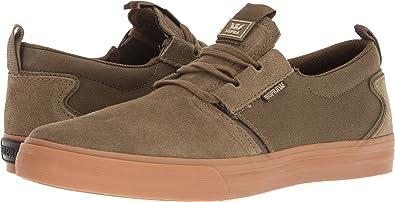 Supra Men's Flow '18 Shoes,Size 7,Olive-Gum