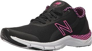 New Balance Women's 711v3 Cush + Training Shoe, Black, 10.5 B US