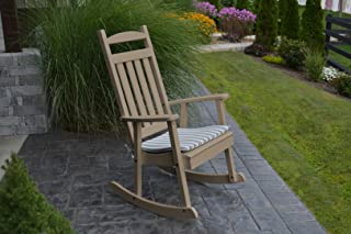product image for Furniture Barn USA Outdoor Poly Classic Porch Rocker - Weather Wood