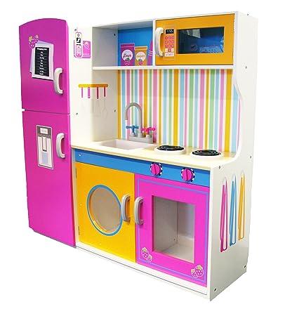Evie & Jake 915FC1057 Cucina giocattolo in legno, per bambini, 110 ...