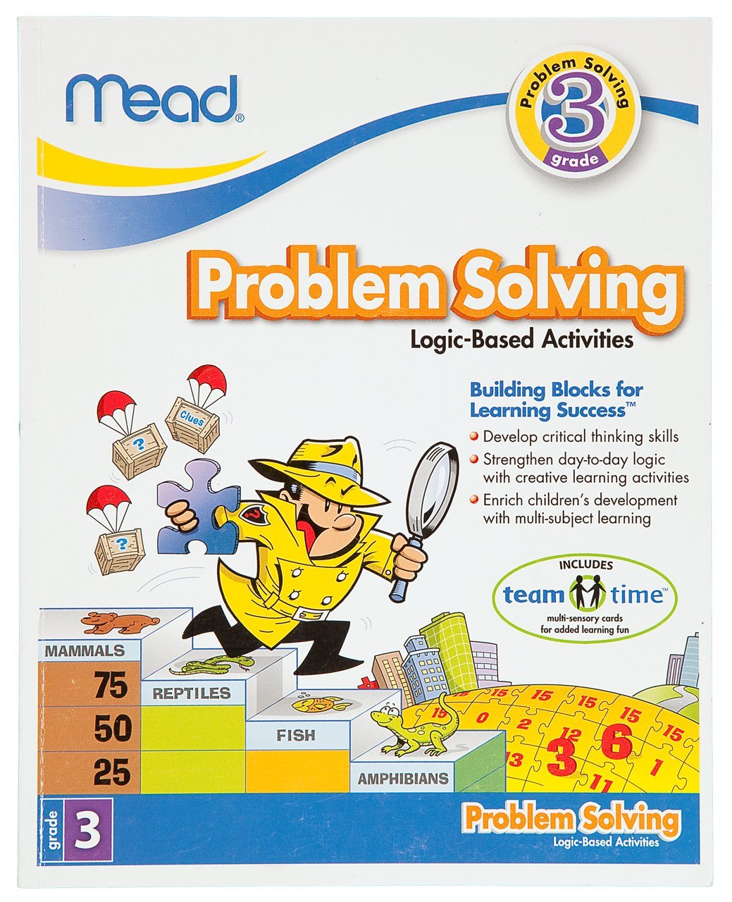 Workbooks big third grade workbook : Amazon.com : Mead 3rd Grade Problem Solving Workbook, 10 x 8 ...