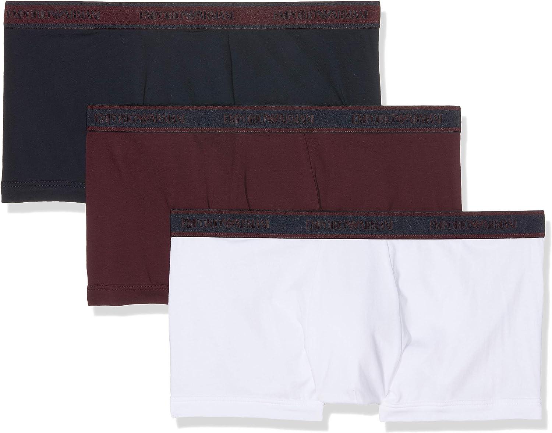 Emporio Armani Underwear Braguita (Pack de 3) para Hombre