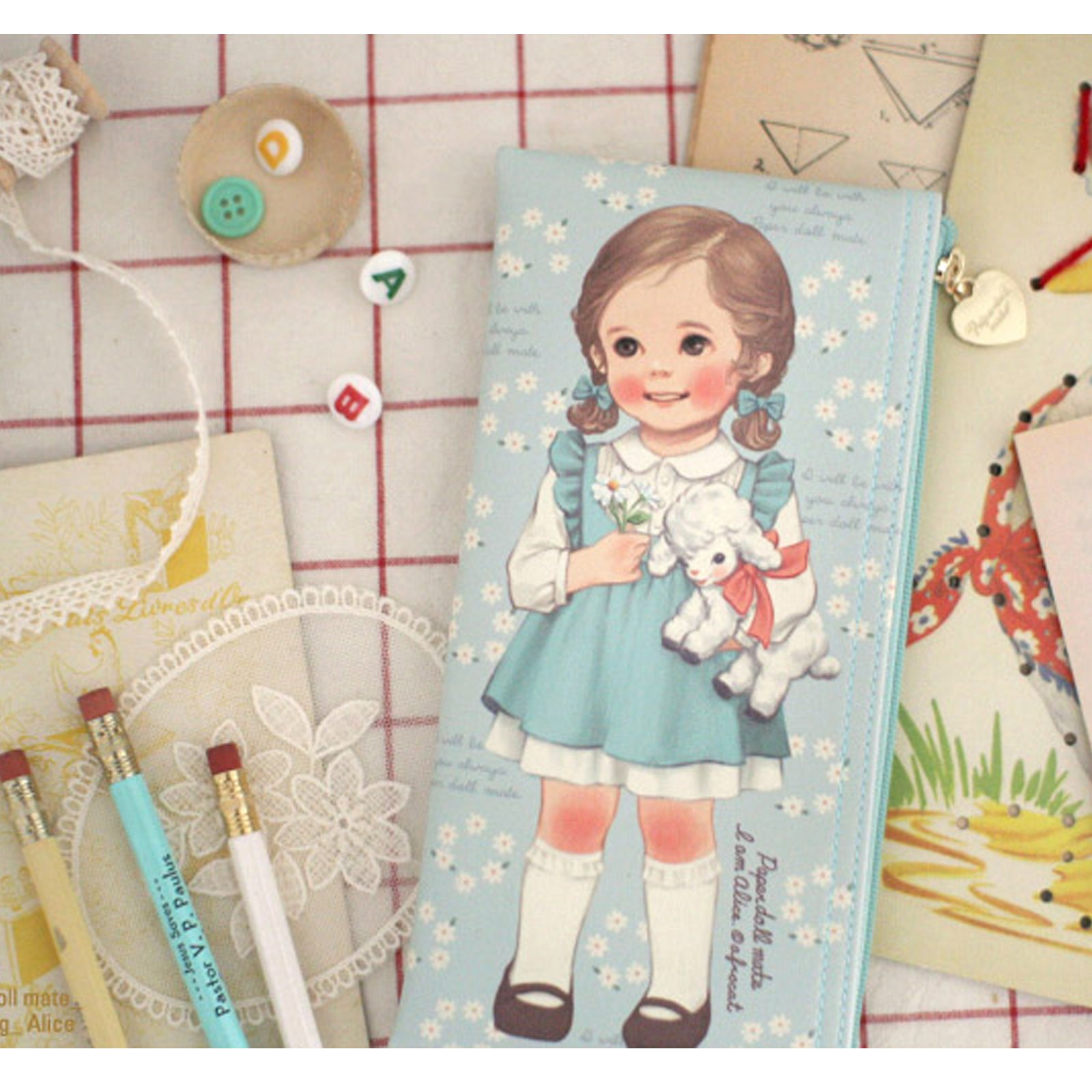 paperdollmate pencase ver007_blooming Alice by paper doll mate (Image #2)