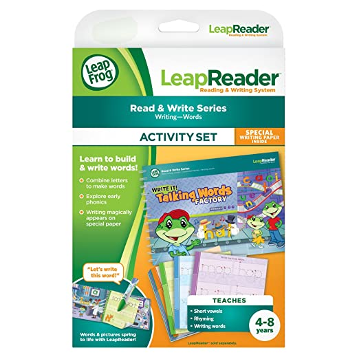 Amazon.com: LeapFrog LeapReader Writing Workbook: Write it ...
