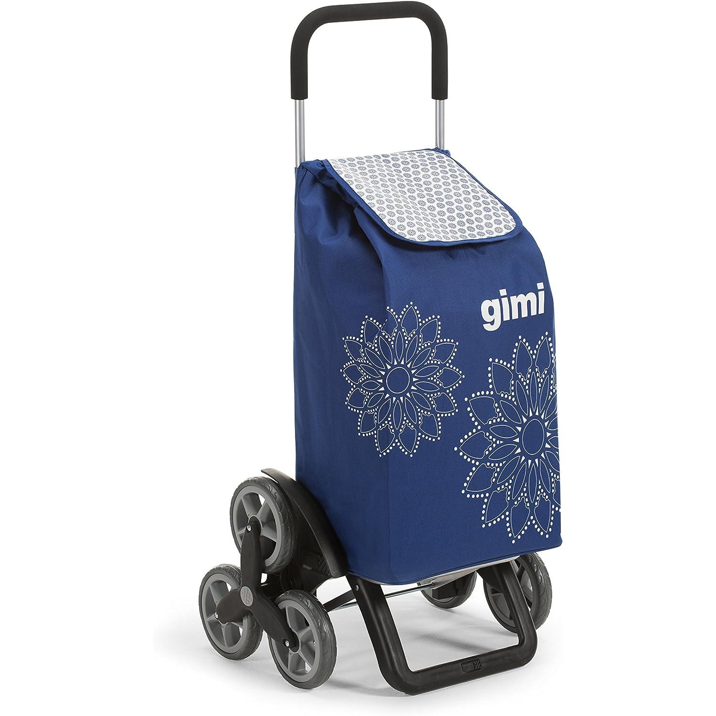 Gimi Tris Floral Blau Einkaufstrolley