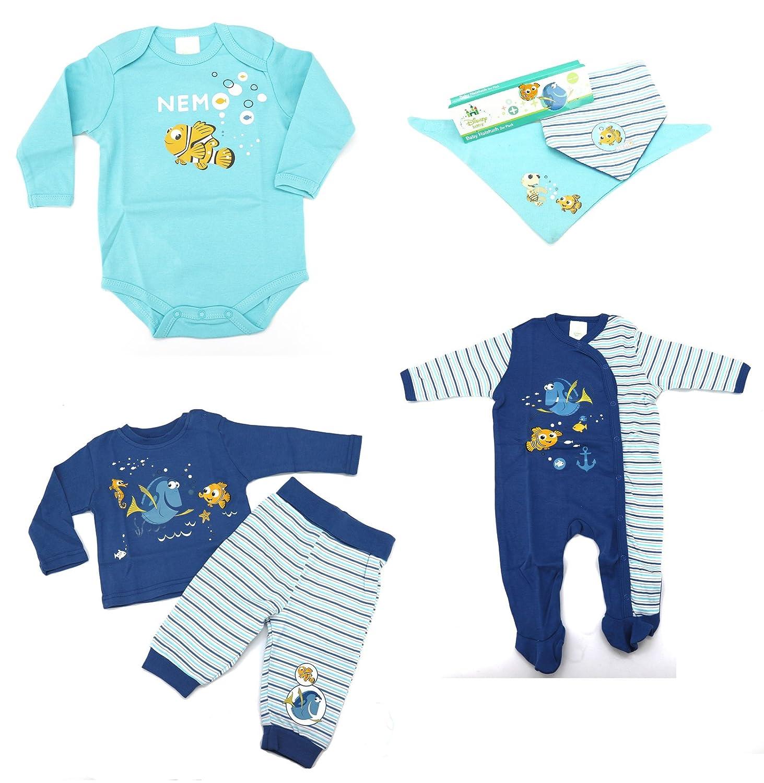 Disney Baby Schlafanzug 2-teilig Findet Nemo Dorie Pyjama blau Hausanzug Typ512