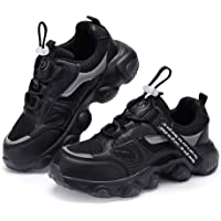 Casbeam Boys Shoes Girls Tennis Running Sneakers Hiking Shoes Kids Outdoor Fashion Sneakers Slip Resistant (Big/Little…
