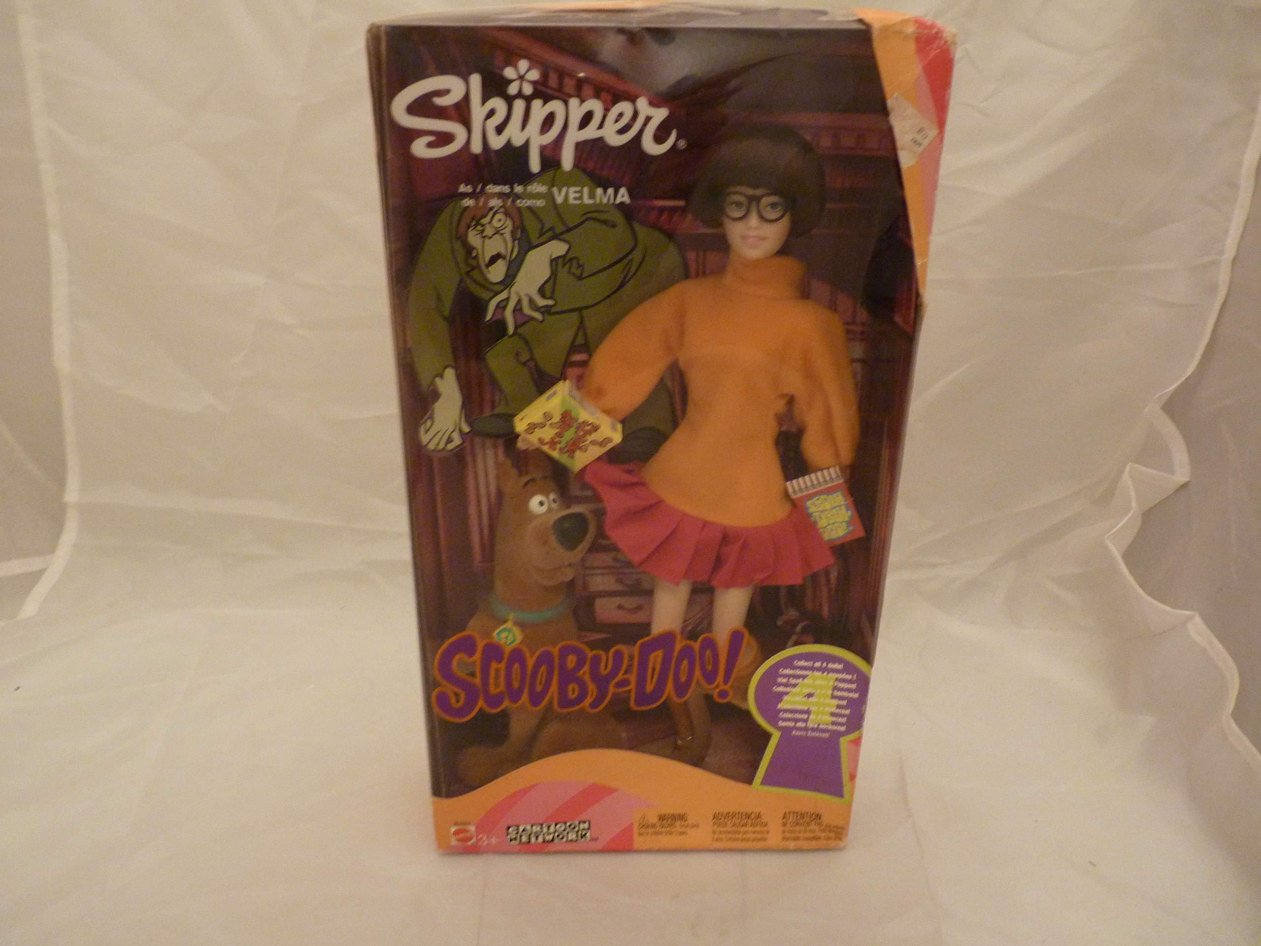 Skipper Barbie Doll as Velma from Scooby-Doo