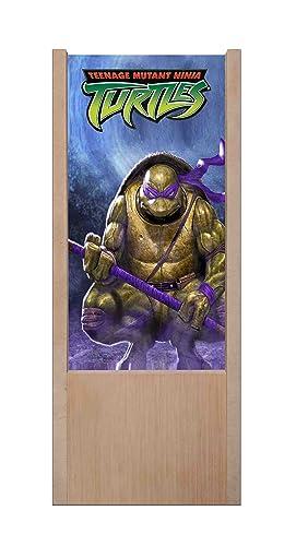 Lámpara de mesa de madera Tortugas Ninja - Donatello: Amazon ...