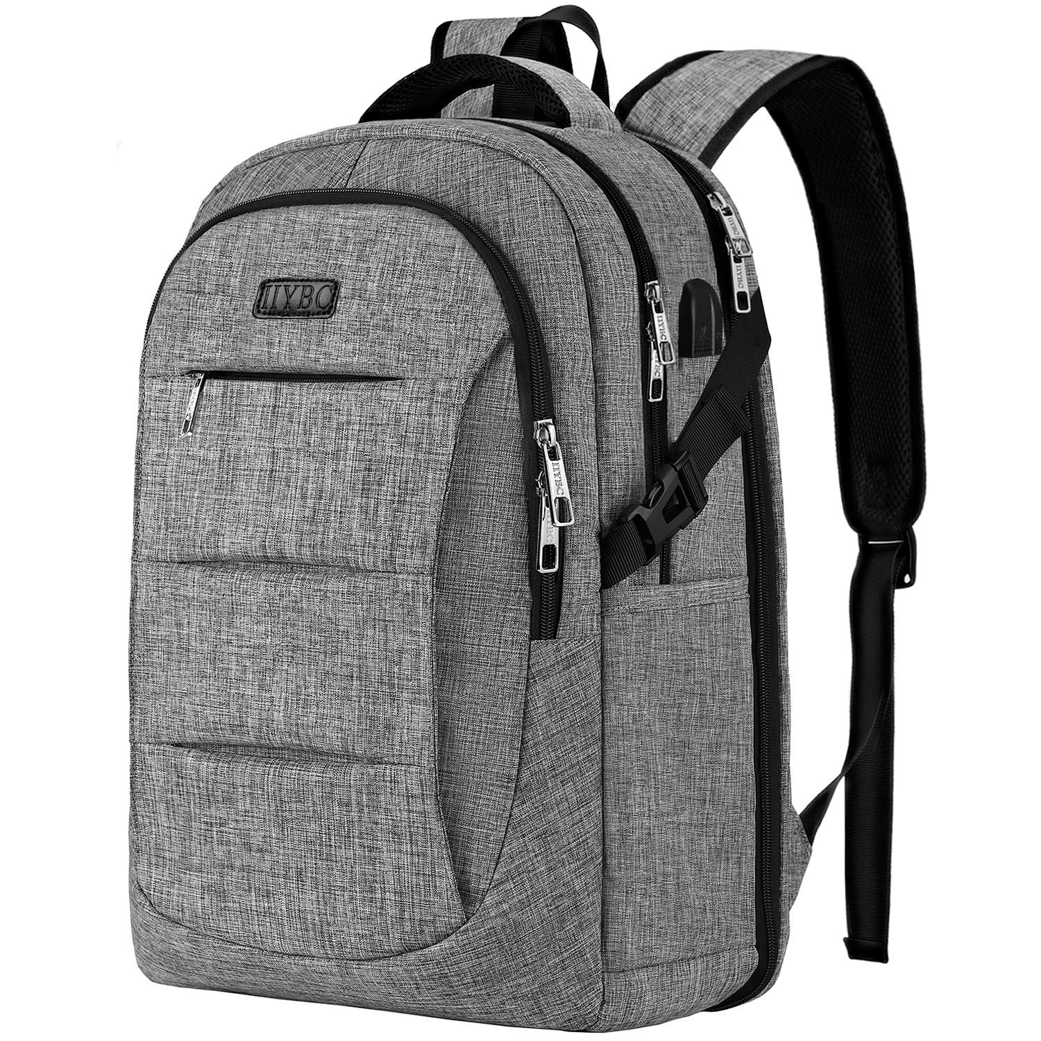 447a5552ac13 Travel Laptop Backpack, TSA Anti-Theft Business Laptop Backpack Bag with  USB Charging Port for Womens Mens, Durable Water Resistant 15.6 Inch  College ...