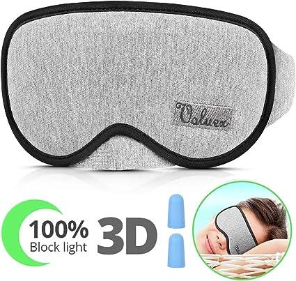 Amazon.com: Máscara de dormir para hombres y mujeres ...