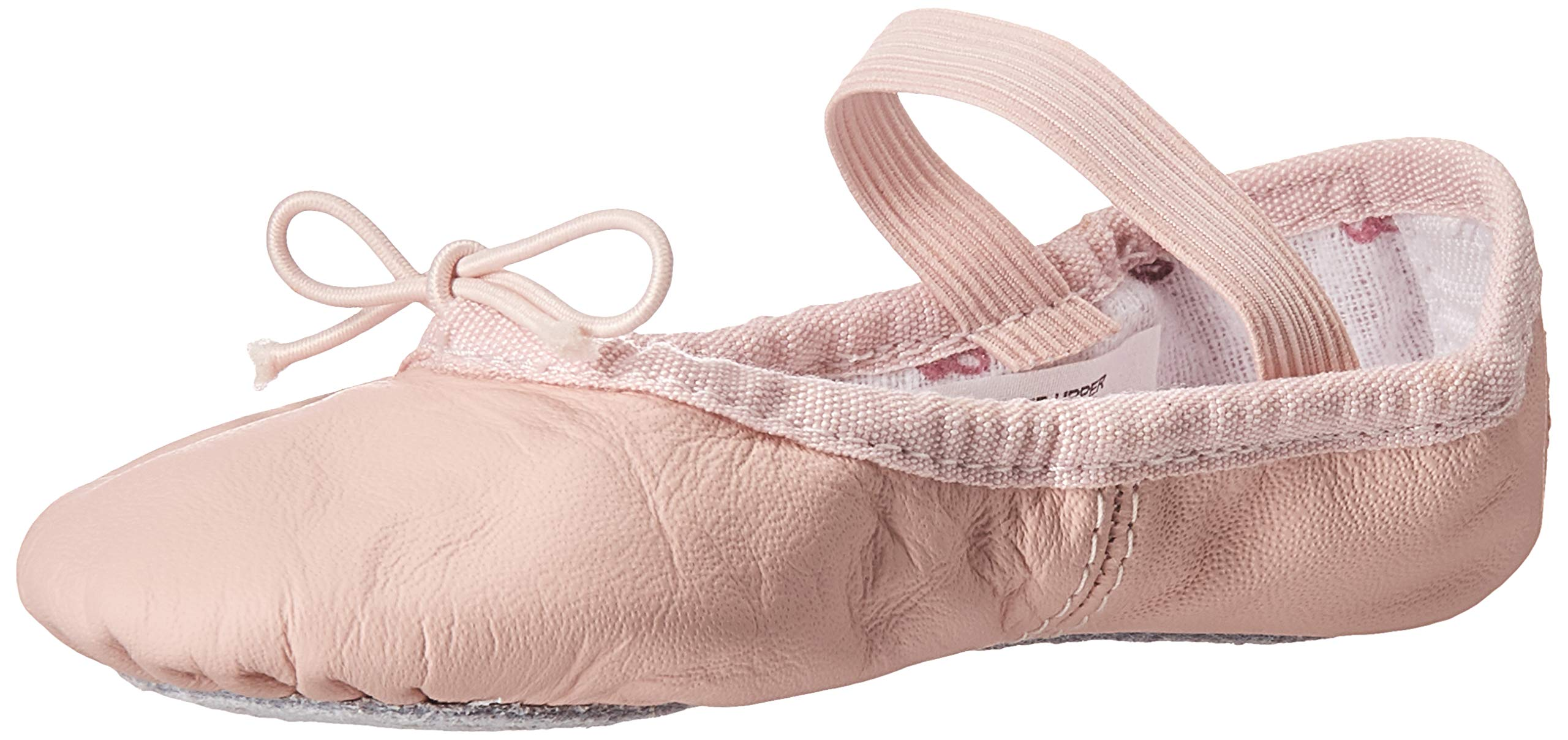 STELLE Leather Contemporary Pirouette Dance Half Sole Lyrical Turning Shoes for Ballet Jazz Girls