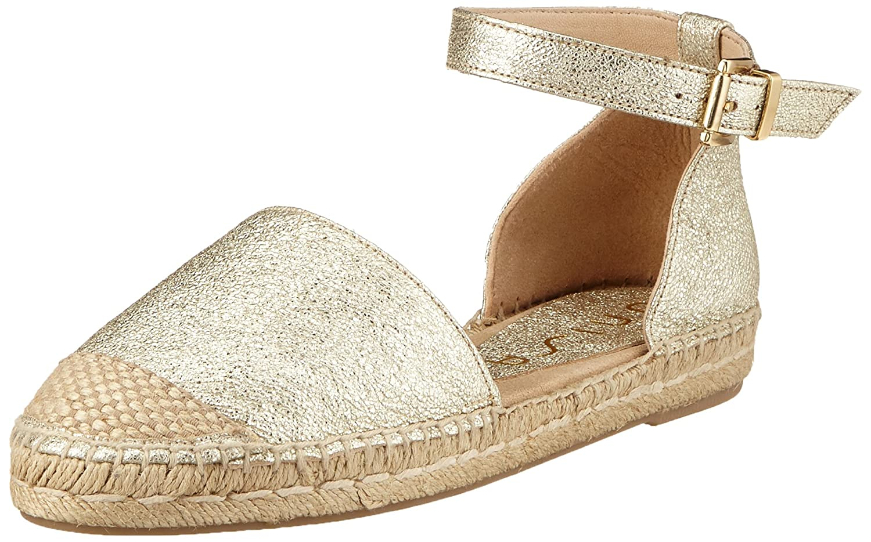Unisa Bose_se, Alpargata para Mujer, Dorado (Platino), 35 EU: Amazon.es: Zapatos y complementos