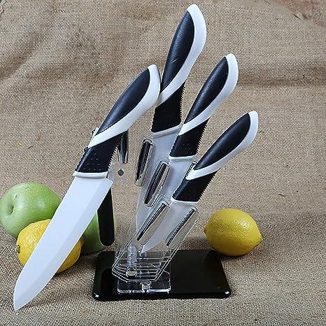 Juego de cuchillos de cerámica, Interruptor, Juego de 6 ...