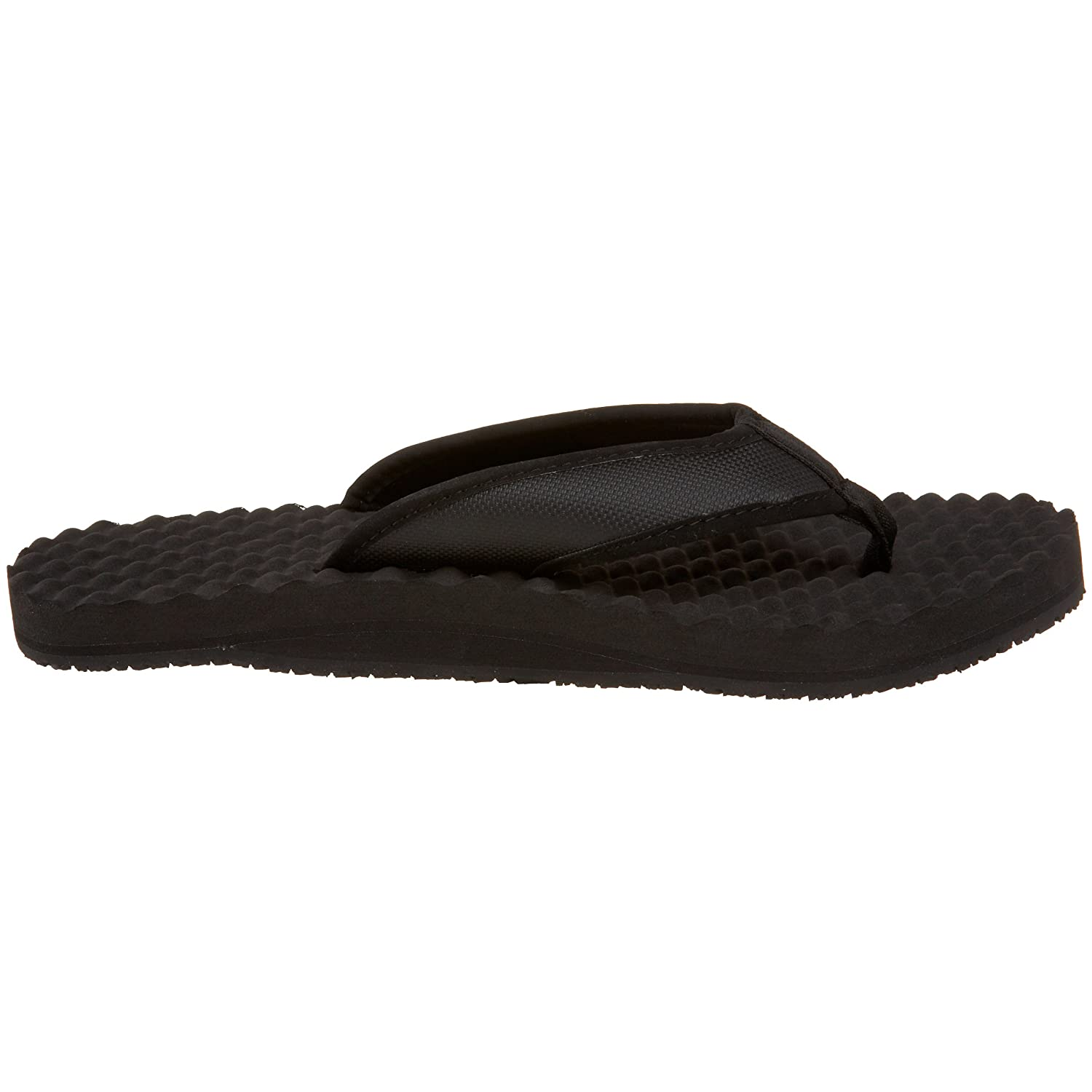 The North Face M Base Camp Flip-Flop Herren Zehentrenner, Black (Black/Black 002), 45.5 EU/11 UK/12 US