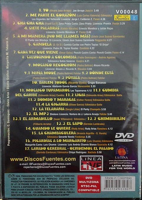 Amazon.com: DVD CROSSOVER PARA LA FIESTA: Movies & TV