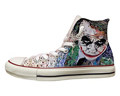 Converse all Star con Stampa Painted Joker