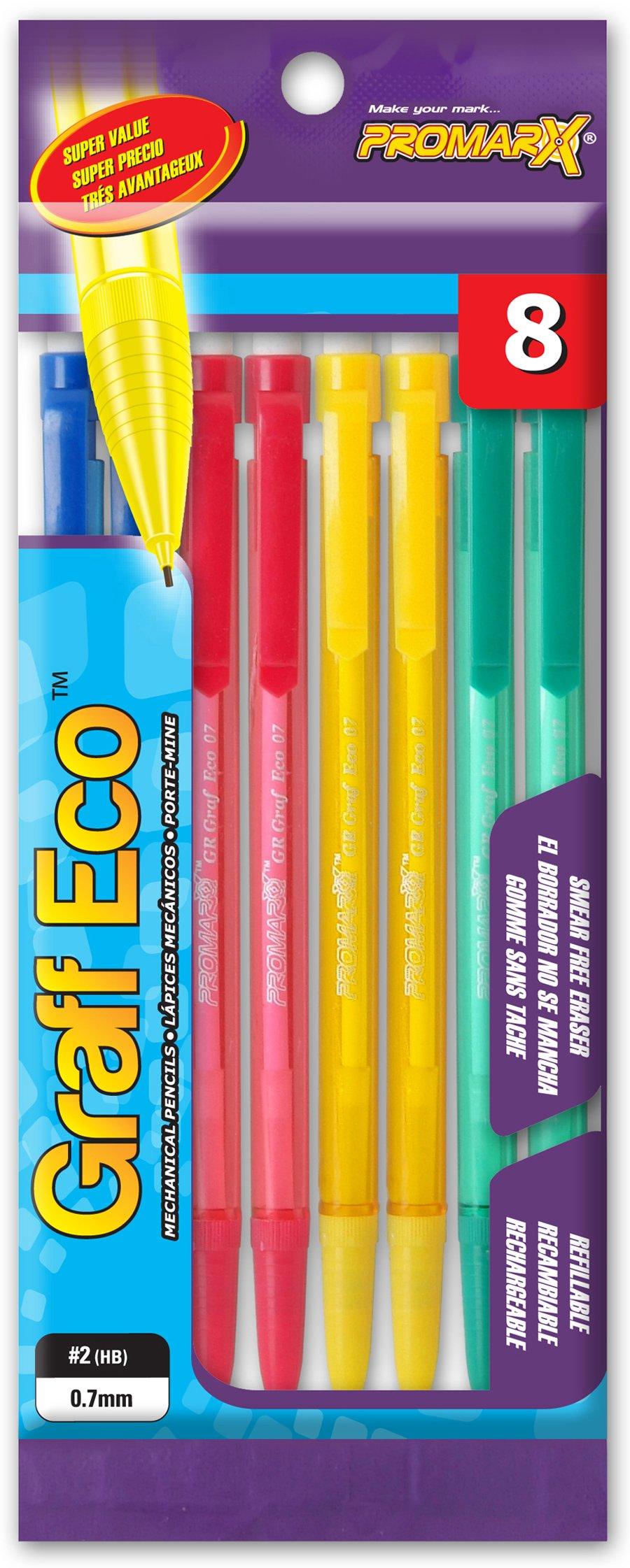 Kittrich Promarx Graf Eco lápices mecánicos, varios...