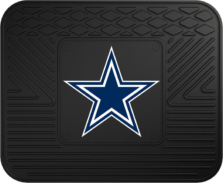 FANMATS 8274 NFL Dallas Cowboys Vinyl Heavy Duty Car Mat,Set of two.