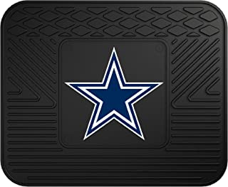 """product image for FANMATS NFL Dallas Cowboys Vinyl Utility Mat , 14""""x17"""" - 9999,Black"""
