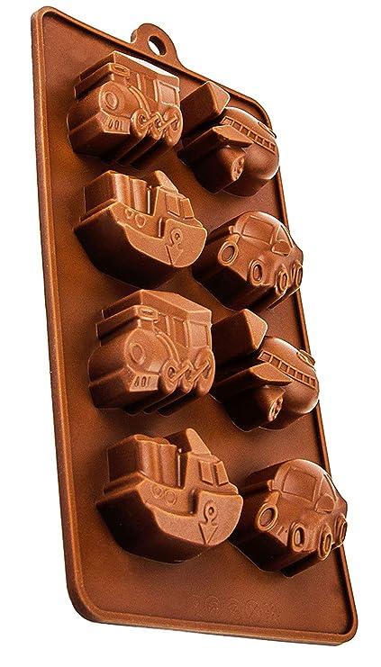 Moldes de silicona en el avión de diseño, las - cumpleaños, detalle y rica en chocolate, mazapán, ...