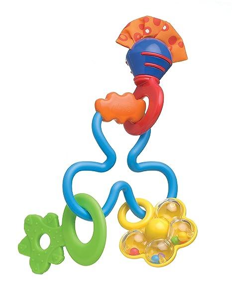 Playgro 0181587 - Mordedor sonajero Twirly Whirl