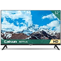 Caixun EC32S2N, 32'' Television 32 inch HD HDR Smart TV with Screen Share, HDMI, USB (2021 Model)
