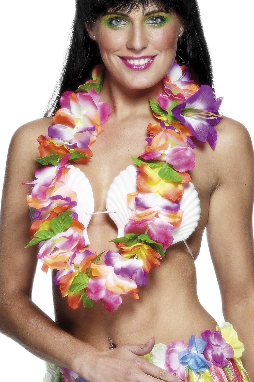 Smiffys Damen Hawaii Blumen Kette, One Size, 23411