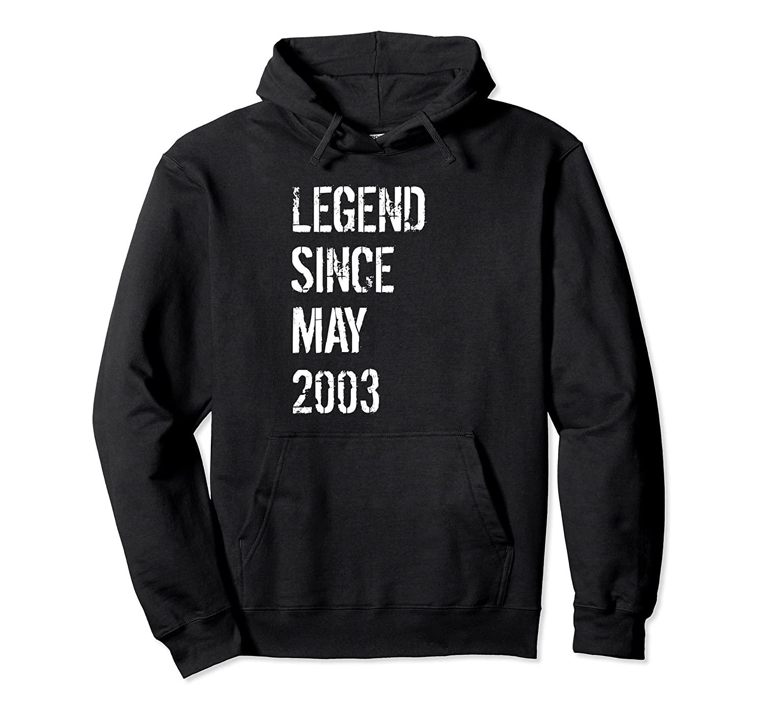 15th Birthday Gift Hoodie for Boys & Girls Born May 2003-alottee gift
