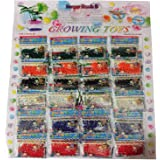 24 Bags, Water Beads, Crystal Gel Water Pearls, Aqua Jelly Beads, Water Growing balls, Crystal Mud Soil Water Beads for Wedding Centerpiece Vase Fillers, Plant decoration, Orbeez refill & Sensory toys