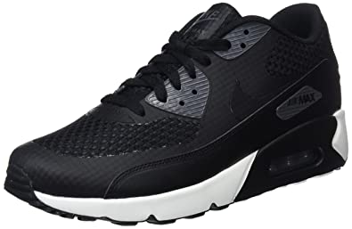 new style 89e5d 3f37e Nike Herren Air Max 90 Ultra 2.0 Se Gymnastikschuhe, Schwarz Black/Dark  Grey/