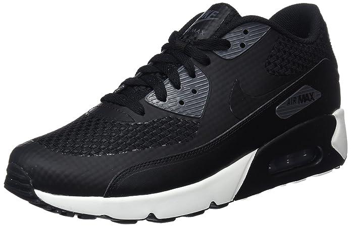size 40 f45c2 e95b4 Nike Men s Air Max 90 Ultra 2.0 Se Gymnastics Shoes Black Light Grey   Amazon.co.uk  Shoes   Bags