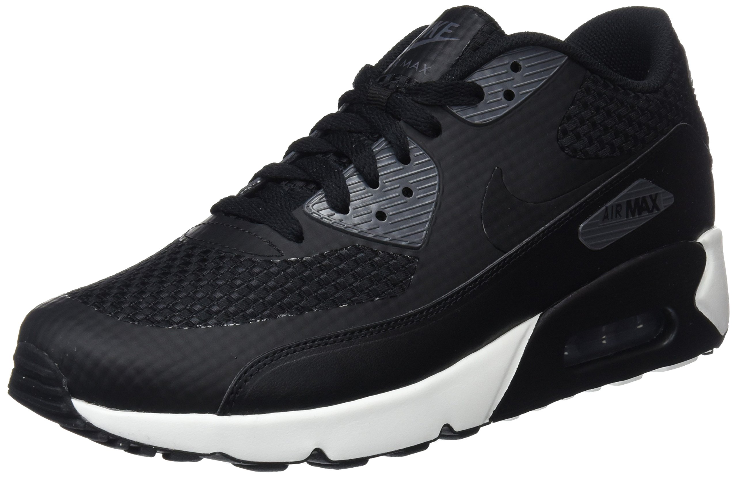 premium selection 47bc7 db9b1 Galleon - NIKE Mens Air Max 90 Ultra 2.0 SE Running Shoes Black Black Dark  Grey Sail 876005-007 Size 11.5
