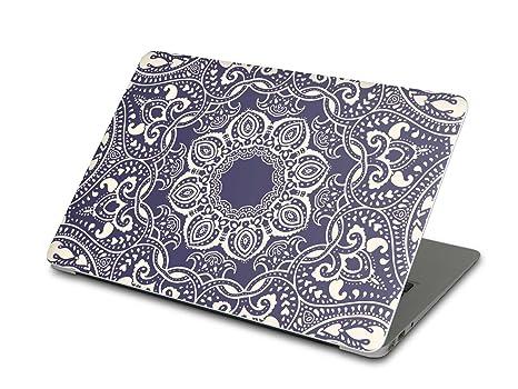 Easy cover adhesivo decorativo para portátiles Apple MacBook Air 11 diseño Blue mandala (gráfico &