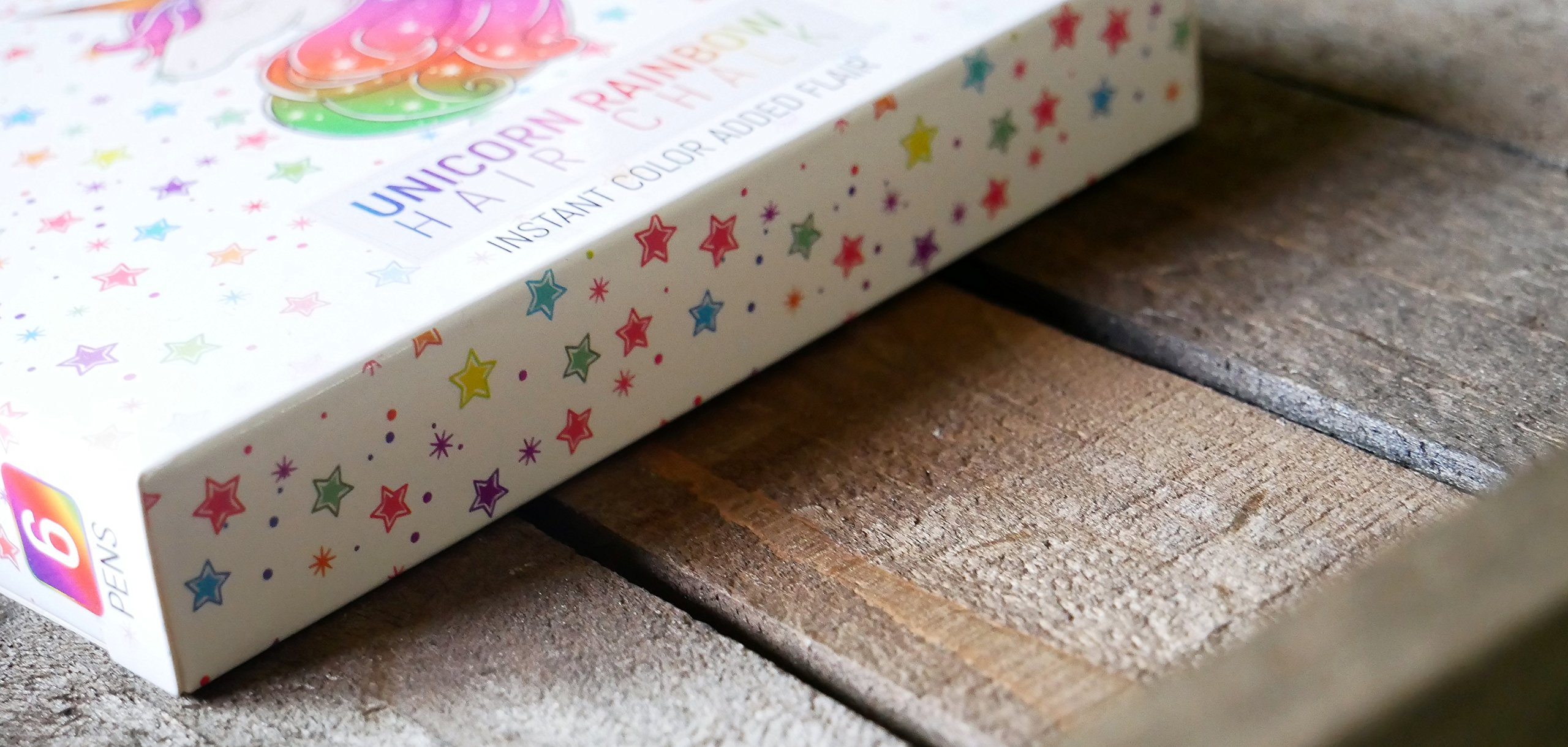 Girls Hair Chalk, Rainbow Hair Chalk, Unicorn Hair Chalk Pens by Twinkle Unicorn (Image #8)