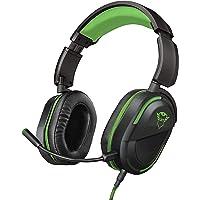 Trust GXT 422G Legion Xbox One için Oyun Kulaklığı (50 mm Aktif Hoparlör, Döndürülebilir Kulaklık, Çıkarılabilir Mikrofon) Siyah
