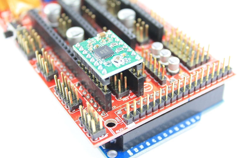A4988 - Motor paso a paso de un eje para impresora 3D RAMPS ...